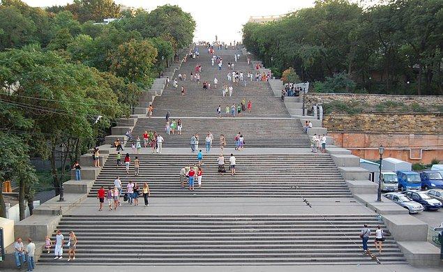 Потемкинская лестница. Украина, Одесса.