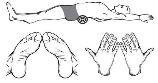 Японская гимнастика Фукуцудзи для похудения с валиком