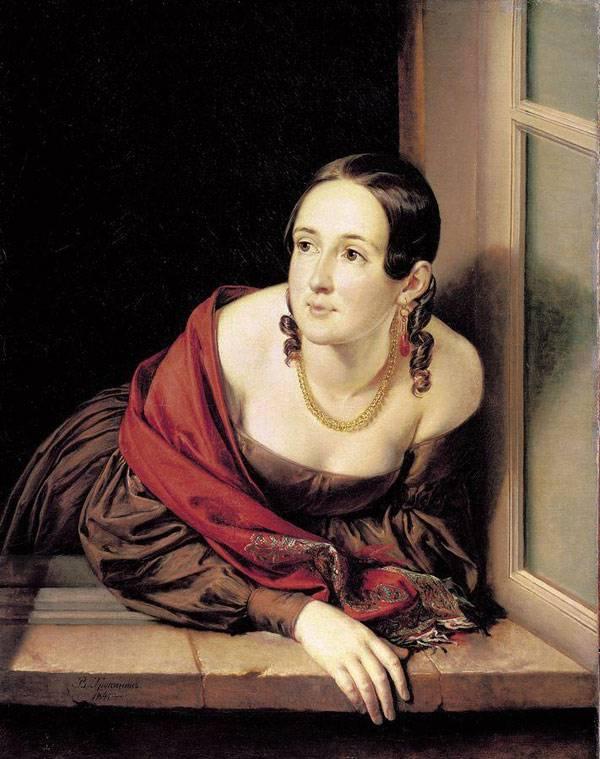 Женщина в окне (Казначейша)