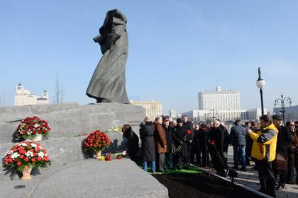 Церемония открытия памятника Тарасу Шевченко
