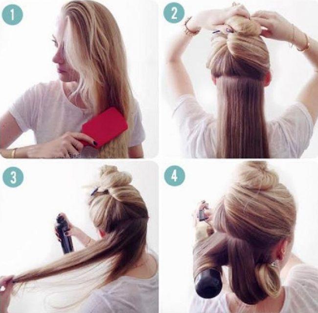 Как сделать волны на волосах плойкой фото 991