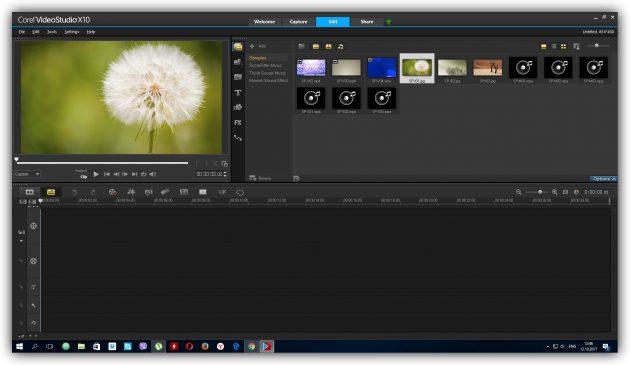 Программы для монтажа видео: Corel VideoStudio Pro X10