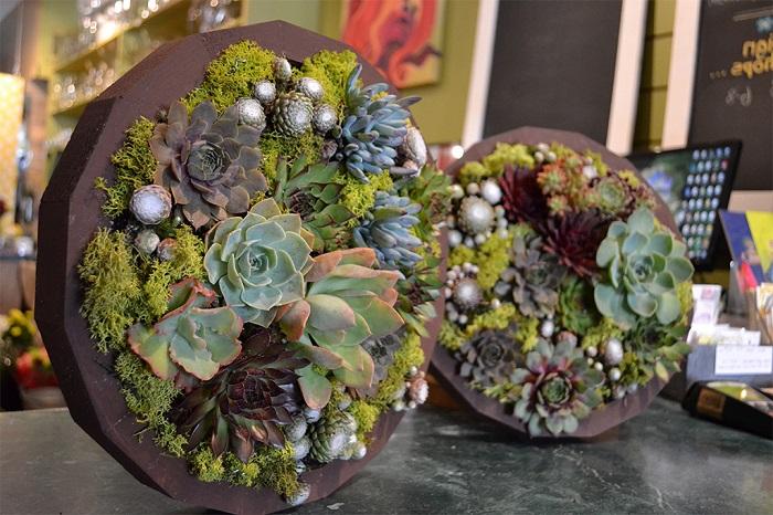 Такие очаровательные растительные картины добавят зеленых красок и оживят ваш интерьер.