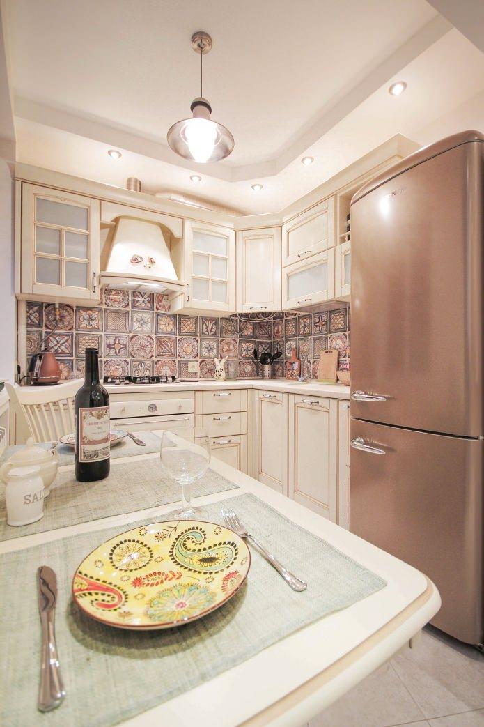 кухня в интерьере двухкомнатной хрущевки