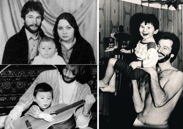 Игорь Тальков с семьей Игорь Тальков, Тальков, певец
