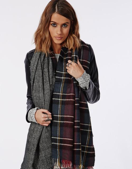 Как красиво завязать шарф-палантин?