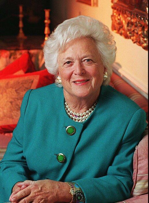 Барбара Буш. / Фото: www.sports.squibs.org
