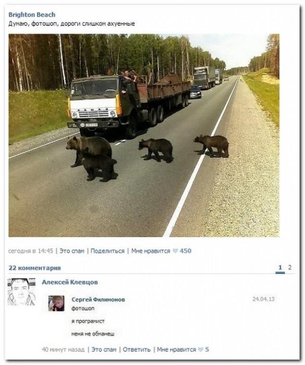 Смешные комментарии из социальных сетей (21 фото)