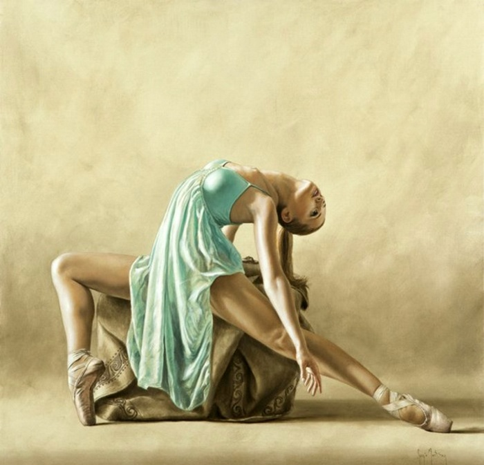 Отдаваясь танцу. Автор: Sergio Martinez Cifuentes.