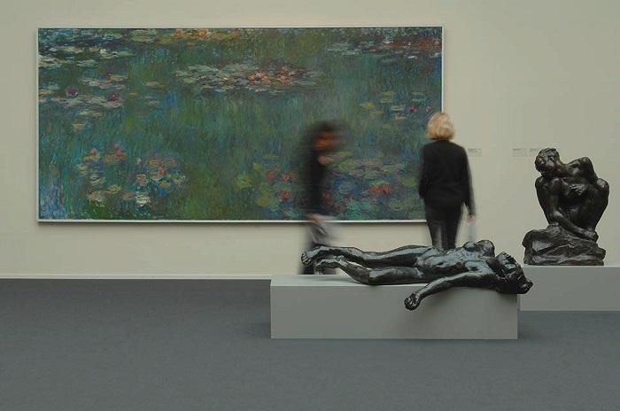 Моне и Роден в коллекции музея. Художественный музей Цюриха.   Фото: img.myswitzerland.com.