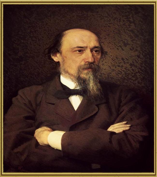 Портрет Н.А. Некрасова
