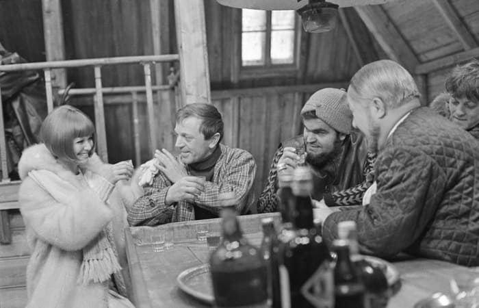 Актриса в СССР на съемках фильма *Красная палатка*, 1969 | Фото: tass.ru