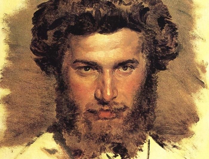 В. Васнецов. Портрет А. И. Куинджи, 1869. Фрагмент | Фото: artcontext.info