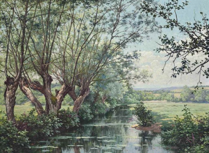 художник René Charles Edmond His картины -2-11