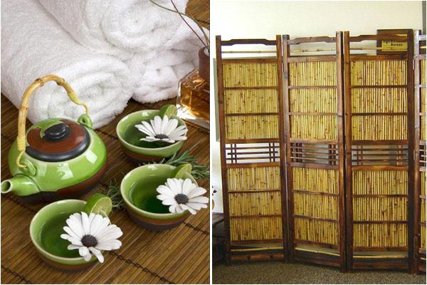 Чай из бамбука, полотенца из бамбука, ширма из бамбука