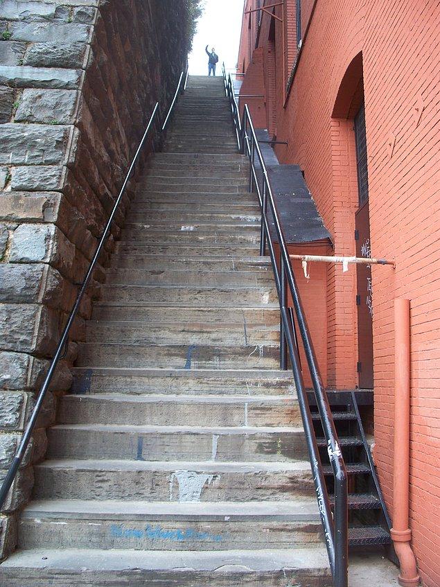 Лестница экзорциста. Вашингтон, США.