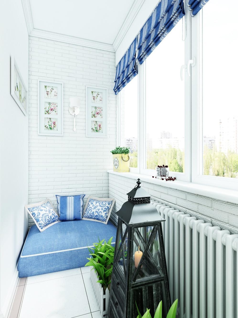 Дизайн балконов и лоджий фото.