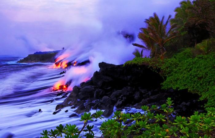 Красиво и интересно: Гавайские вулканические острова.