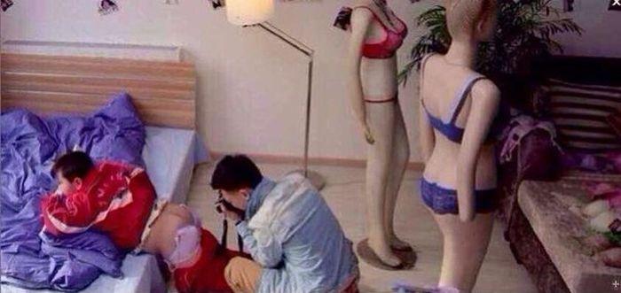 Китайская реклама нижнего белья нижнее белье, реклама, китай
