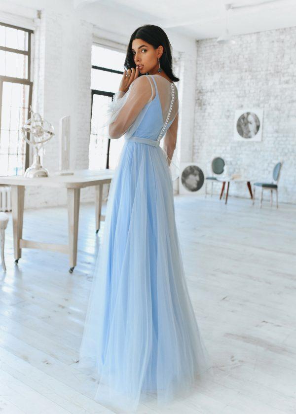 Модные длинные платья 2020