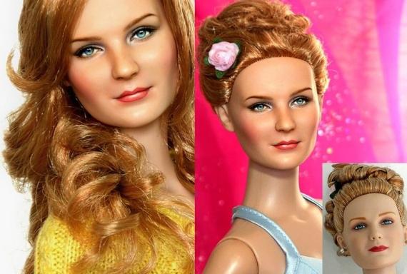 Куклы звезды от Ноэля Круза звезды, знаменитости, интересное, красота
