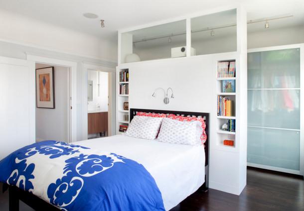 гардеробная спальня 9