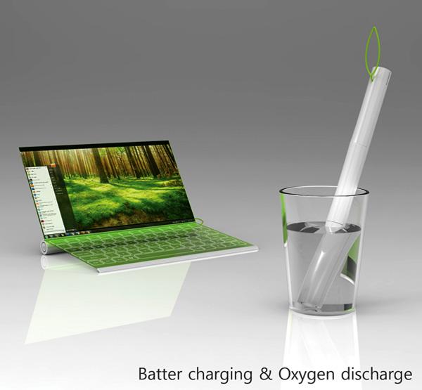 plantbook ноутбук на воде