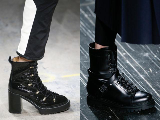 Модные ботинки сезона осень – зима 216 – 2017