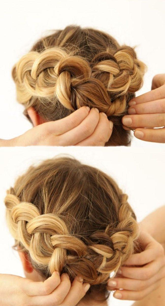 плетение кос картинки по шагам никогда
