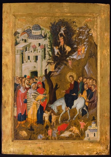 The_Entry_into_Jerusalem,_ca__1400__Gold_and_tempera_on_gesso_on_wood_panel,_The_Menil_Collection.jpg
