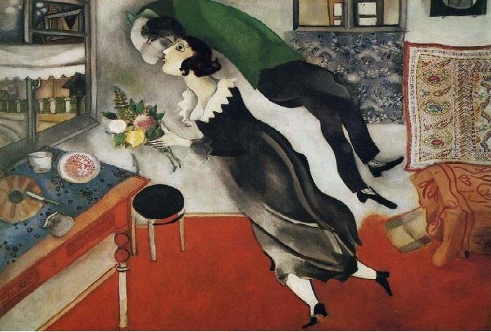 «Юбилей». 1923г. М.Шагал
