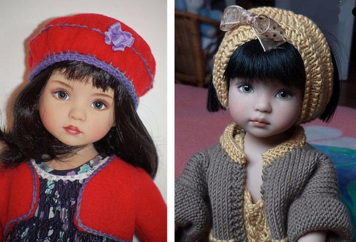 Нежные куклы Дианы Эффнер (Dianna Effner)