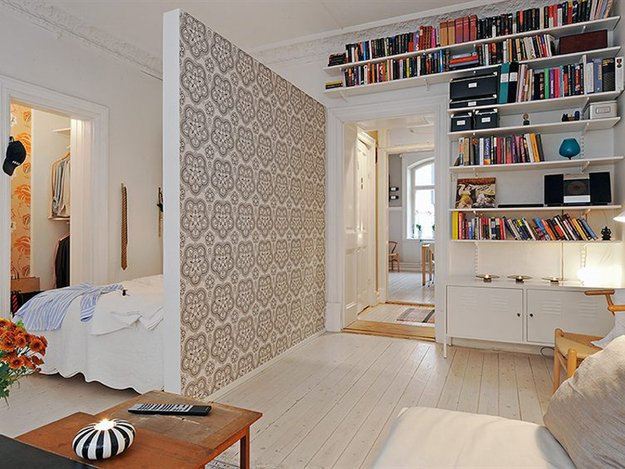 Квартира, декорированная в скандинавском стиле