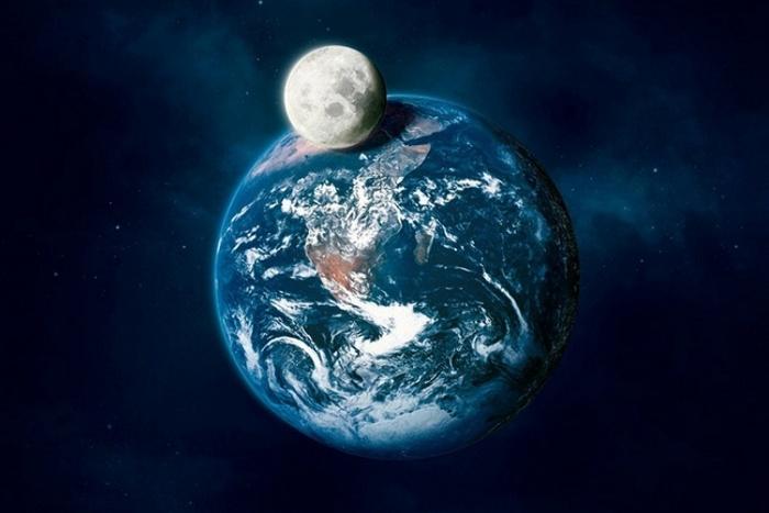 Интересный факт о Луне.