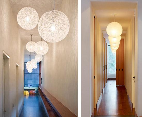 Свет в коридоре фото