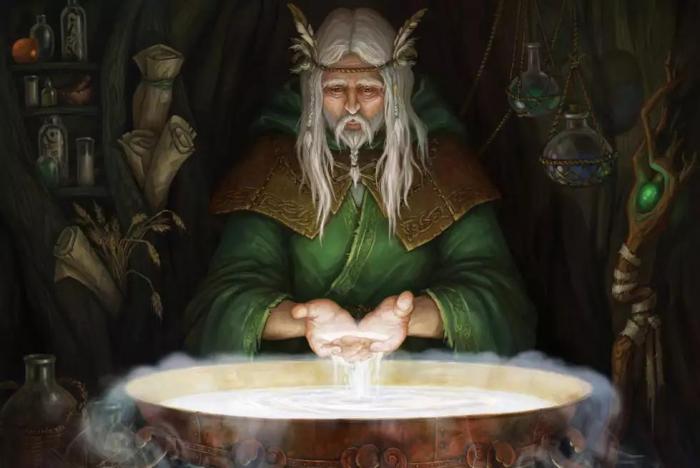 Друиды - кельтские жрецы и кудесники: легенды и археологические факты (6 фото)