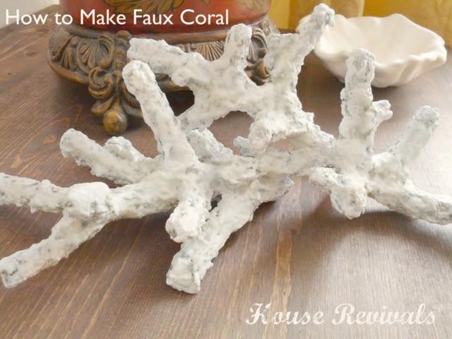 Самодельные кораллы. Мастер-класс