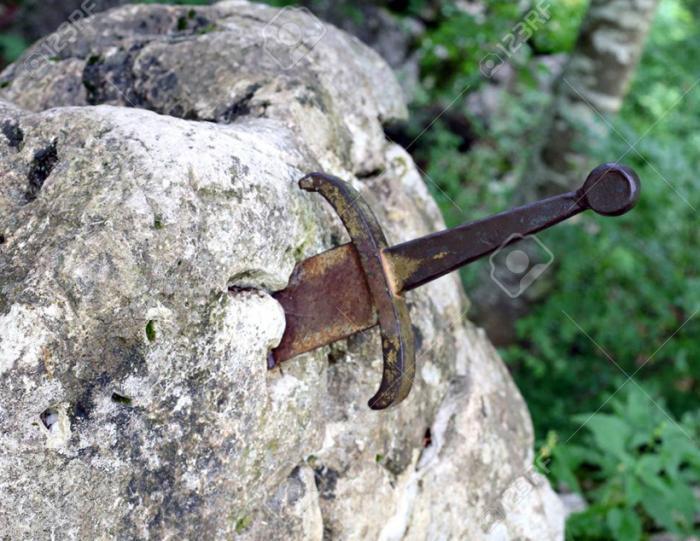 Мечи в камне