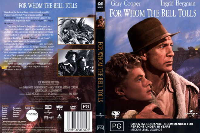 for whom the bell tolls summ essay