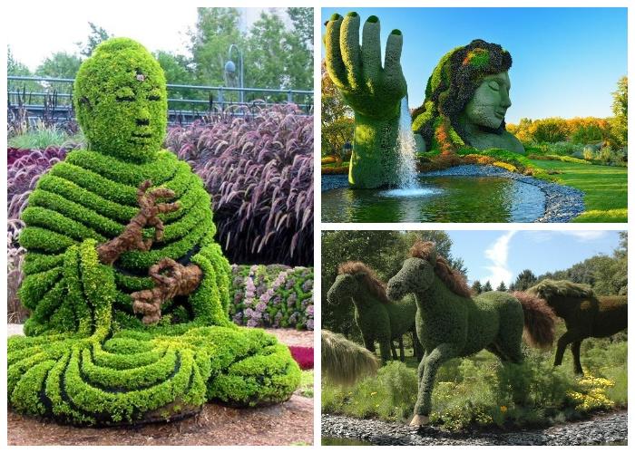 Монреальский ботанический сад – настоящее воссоединение природы и человеческой фантазии. | Фото: vmireinteresnogo.com.