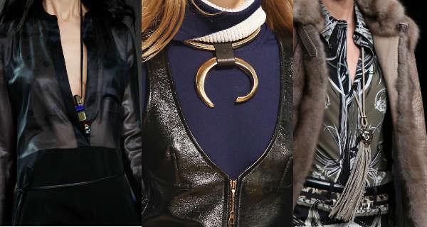 Модные подвески и кулоны осень-зима 2014-2015