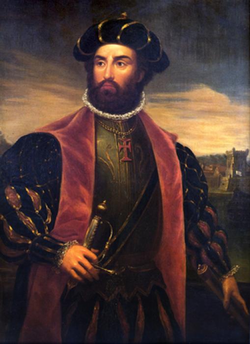 Португальский мореплаватель Васко да Гама был вынужден огибать Африку, возвращаясь из Азии в Португалию