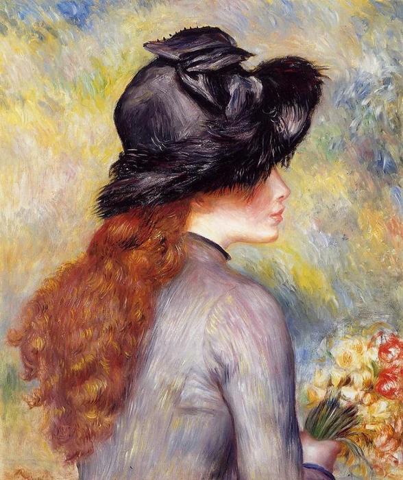 21 Молодая девушка с букетом тюльпанов, 1878 (588x700, 83Kb)