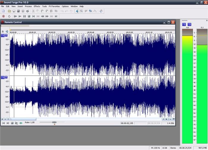 Программы по обработке звука