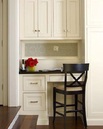 Пример рабочего места на кухне