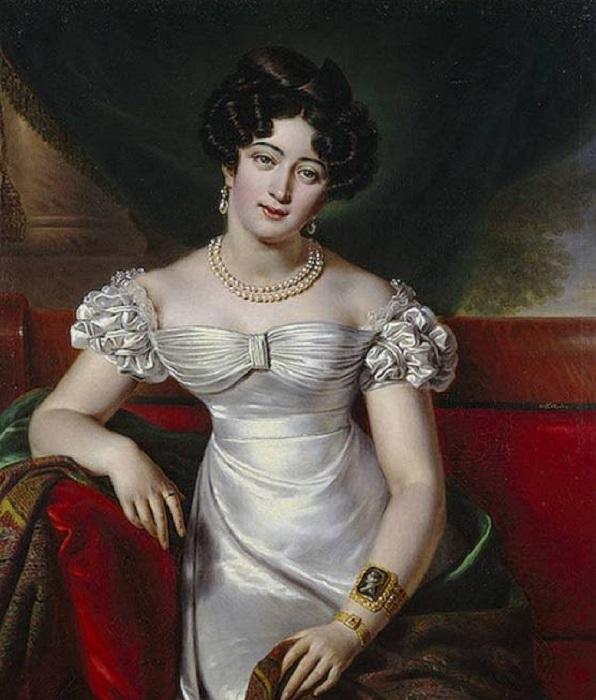 Дочь генерала Палена и Марии Скавронской, знаменитая своими отношениями с художником Карлом Брюлловым.
