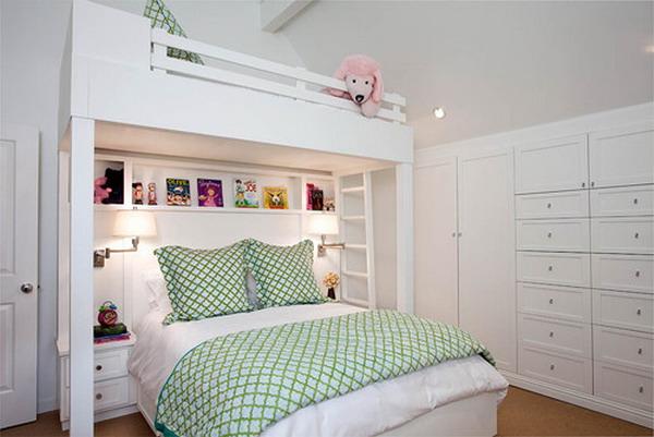 Двухъярусная кровать для всей семьи
