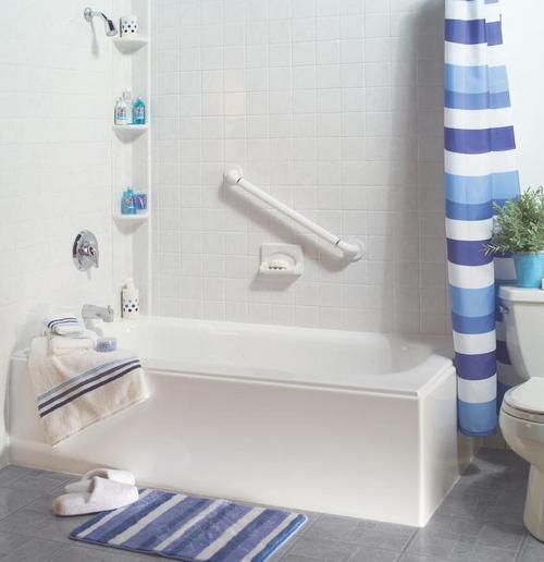 Установка акриловых вкладышей в ванну