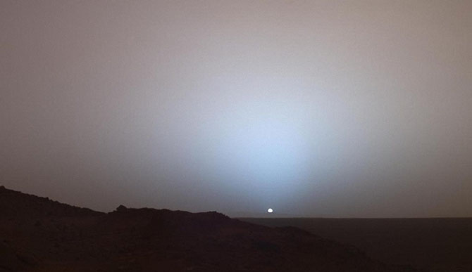 Самые красивые фотографии Марса