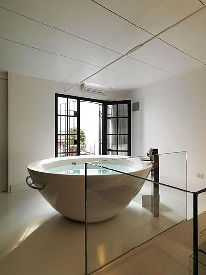 Пора что-то менять: 10 круглых ванн - фото 8